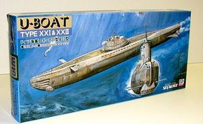 Skywave WWII German Type 21 & 23 U-Boats Plastic Model Submarine Kit 1/700 Scale #w19