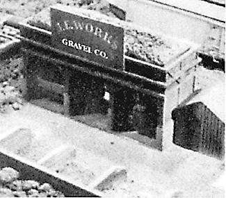Scale Structures J.E. Work's Gravel Yard -- Kit - 7-3/4 x 5'' - HO-Scale