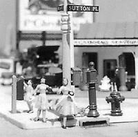 Scale Structures Street detals - HO-Scale