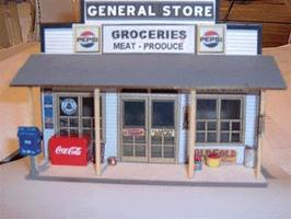 Scale-Univ General Store Detail Assortment 7-Pieces - O-Scale