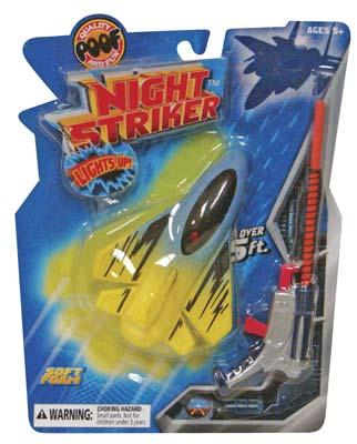Slinky Toys Poof Night Striker Plane