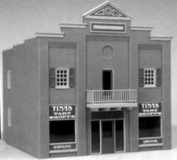 Smalltown U.S.A. Tina's Tart Shoppe City Building -- HO Scale Model Railroad Building -- #6000