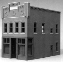 Smalltown Jessicas Salon City Building HO Scale Model Railroad Building #6003