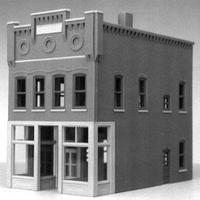 Smalltown Madelene's Deli City Building HO Scale Model Railroad Building #6004