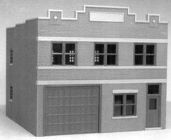 Smalltown Cab Company Kit HO Scale Model Railroad Building #6007