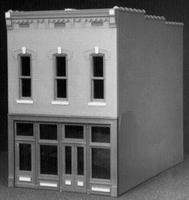 Smalltown Old Indian Tobacco Shop City Building Kit HO Scale Model Railroad Building #6014