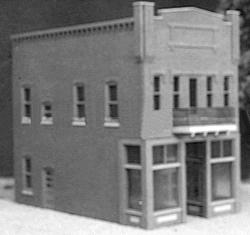 Smalltown U.S.A. Kevin's Toy Store Kit -- HO Scale Model Railroad Building -- #6021