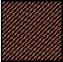 Scale-Motor Comp. Carbon Fiber Decal Black on Bronze Plastic Model Vehicle Decal 1/12 Scale #1112