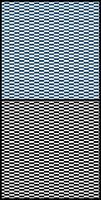 Scale-Motor Comp. Fiber Decal Checkerboard Met. Ice Blue, Clear, & Black (1960s) Decal 1/24 #1960