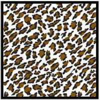 Scale-Motor Comp. Fiber Decal Leopard Pattern (1970s) Plastic Model Vehicle Decal 1/24 Scale #1974