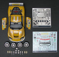 Scale-Motor 2006 Corvette C6R LeMans Race Car Builders Kit Plastic Model Vehicle Kit 1/25 #31231