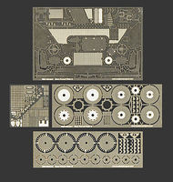 Scale-Motor Enzo Ferrari Photo-Etch Detail Set For TAM Plastic Model Vehicle Accessory 1/24 #8009