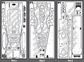 Scale-Motor Wolf WR1 F1 Photo-Etch Detail Set For TAM Plastic Model Vehicle Accessory 1/12 Scale #8075