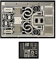 Scale-Motor Toyota GT1 TS020 Photo-Etch Detail Set For TAM Plastic Model Vehicle Accessory 1/24 #8118