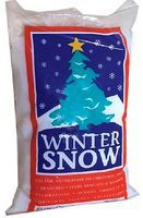 Snow 6oz. Bag White Styrofoam Snow