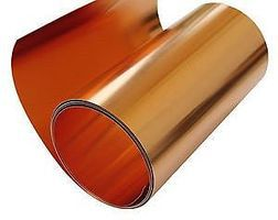 St-Louis 40 Gauge Copper Tooling Foil (.003'' thick, 12'' wide, 3' Roll)