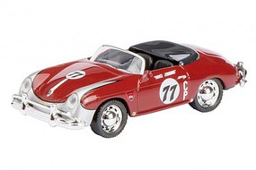 SCHUCO HO Porsche 356 Speedster #77 Rally Car (Red)