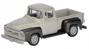 SCHUCO HO 1956 Ford F100 Pickup Truck (Grey w/Black Panels)