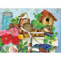 Sunsout The Old Garden Shed 500+pcs Large Format Jigsaw Puzzle 0-599 Piece #16097
