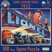 Sunsout Lionel Catalog Series 1952 Puzzle 500pc Jigsaw Puzzle 0-599 Piece #20930