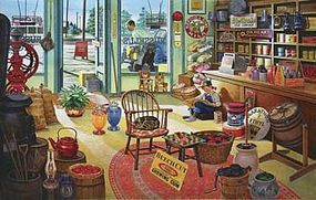 Sunsout Russels General Store 550pcs Jigsaw Puzzle 0-599 Piece #37475