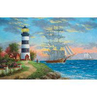 Sunsout A Seafarers Welcome 1000pcs Jigsaw Puzzle 600-1000 Piece #48355