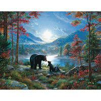 Sunsout Bedtime Kisses 1000+pcs Large Format Jigsaw Puzzle Over 1000 Piece #52966