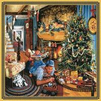 Sunsout Fathers Christmas Train 500pcs Jigsaw Puzzle 0-599 Piece #61024