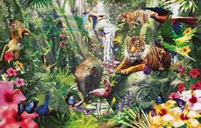 Sunsout Asian Rainforest 1000pcs Jigsaw Puzzle 600-1000 Piece #62042