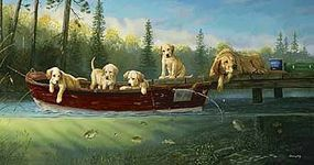 Sunsout Fishing Lesson 500pcs Jigsaw Puzzle 0-599 Piece #71196