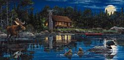 Sunsout Reflections on Loon Landing 1000pcs -- Jigsaw Puzzle 600-1000 Piece -- #ll48401