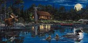 Sunsout Reflections on Loon Landing 1000pcs Jigsaw Puzzle 600-1000 Piece #ll48401