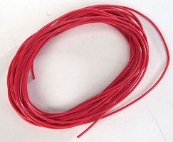 SoundTraxx 10 30 AWG Wire Red Model Railroad Hook Up Wire #810149