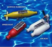 Solar Solar Bottle Boat Kit