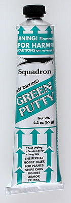 Squadron/Signal Green Putty w/Display (12)