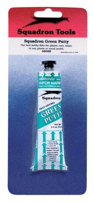 Squadron/Signal Green Putty Carded 2.5 oz