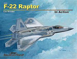 Squadron F-22 Raptor In Action Softcover
