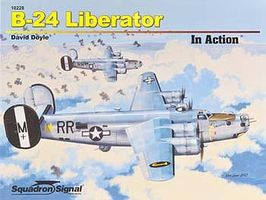 Squadron B-24 Liberator In Action Authentic Scale Model Airplane Book #10228
