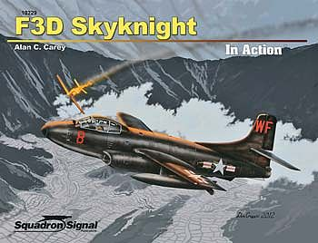 Squadron F3D Skyknight In Action Authentic Scale Model Airplane Book #10229