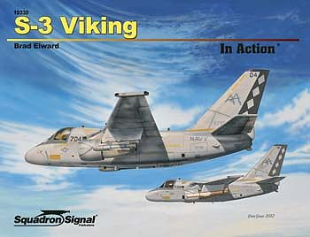 Squadron/Signal Publications S-2 Viking In Action -- Authentic Scale Model Airplane Book -- #10230