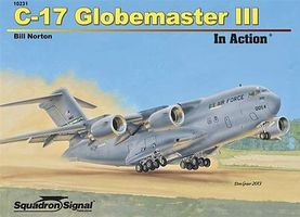 Squadron C-17 Globemaster III In Action Authentic Scale Model Airplane Book #10231