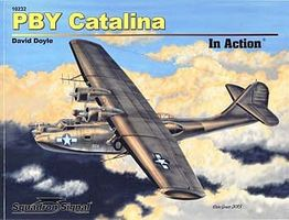 Squadron PBY Catalina In Action Authentic Scale Model Airplane Book #10232