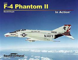 Squadron F-4 Phantom in Action Authentic Scale Model Airplane Book #10237