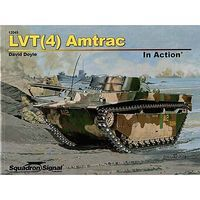 Squadron LTV(4) Amtrac In Action Authentic Scale Model Boat Book #12049