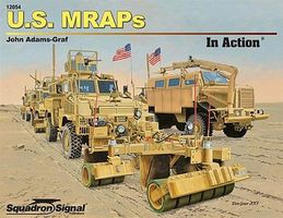 Squadron US MRAPS In Action Authentic Scale Tank Vehicle Book #12054