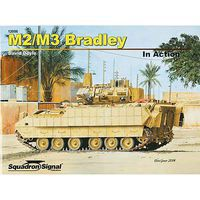 Squadron M2/M3 Bradley In Action (Softcover) Authentic Scale Tank Vehicle Book #12056