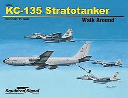 Squadron KC-135 Stratotanker Walk Around Authentic Scale Model Airplane Book #25066