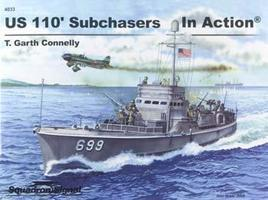Squadron US Sub Chasers Color In Action Authentic Scale Model Boat Book #4033