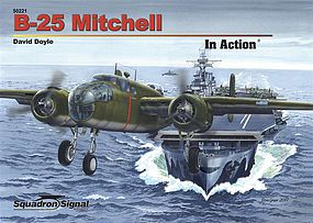 Squadron B-25 MITCHELL in Action HC