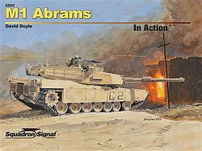 Squadron M1 ABRAMS in Action HC